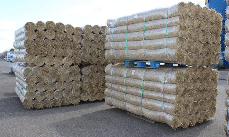 Erosion Control blanket Straw Wattles